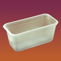 Tray for the container with ice cream the Code 1021