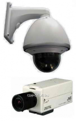 Equipment for systems of video surveillance