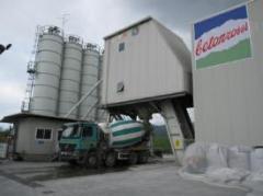 The stationary fast-built concrete plant CIFA