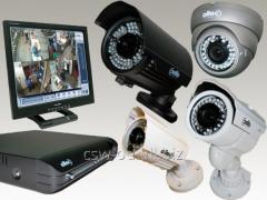 HD-SDI system of video surveillance