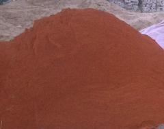 Tennisit, a tennisitny crumb color