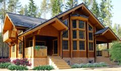 Wooden houses business of category