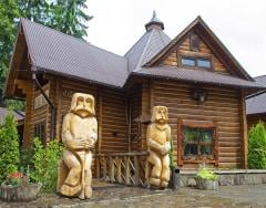 Wooden residential buildings