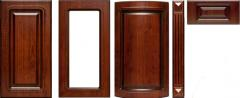 Furniture facades of MDF (colored, shponirovany,