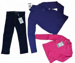 Одежда для подростков Стоковая одежда оптом от
