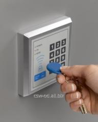 Device of radio security signaling