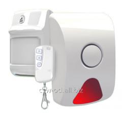 Sensors electrocontact hidden giving of alarm,