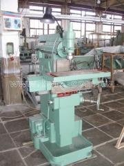 The machine tool shirokouniversalny milling the
