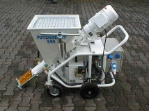 Pumps for plaster PUTZKNECHT S44-2 solutions