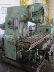 Machine vertically milling 6P13