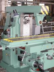 The machine universal and milling console 6P82, to