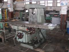 Machine horizontally milling 6R83G, 1984
