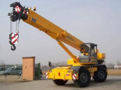 Кран автомобільний GRIL 8400T (35 Т)