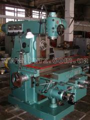The machine horizontally milling 6R83Sh, 1978, to