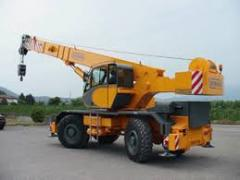 Кран автомобильный GRIL 8500T (45 Т)