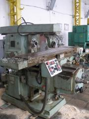 Machine console and milling horizontal 6T83G, 1990