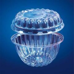 Креманка пластиковая с крышкой Код 4409