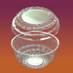 Креманка пластиковая с крышкой Код 4410