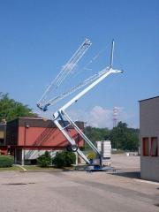 Кран башенный гидравлический мобильный OMV...