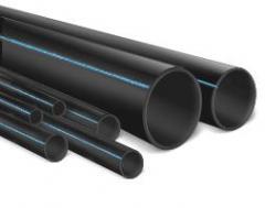 Труба полиэтиленовая водопроводная ПЭ-80, ПЭ-100,