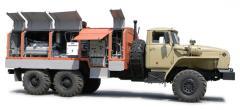 Station nitric compressor mobile PKSA-5/101