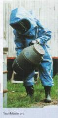 Костюмы химической защиты при авариях