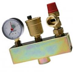 Group of safety of system of heating of a copper