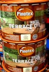 Пинотекс терас оил- масло PINOTEX TERRACE OIL 4,5л