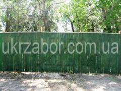 Временный забор - Строительный забор (щит 2х2м