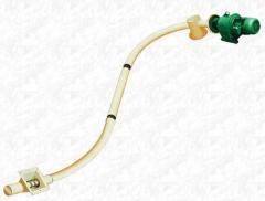 Шнеки спиральные гибкие пружинные для муки, крахмала и др. неабразивных продуктов