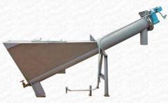 Separators shnekovy for sewage treatment (option