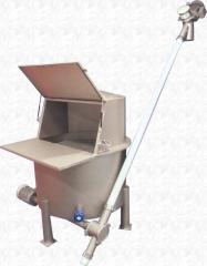 Bunker distributor (distributor) of loose products