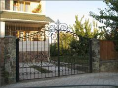 Gate are fron