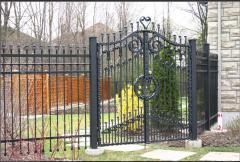 Gate are garden