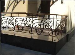 Handrail is balcony