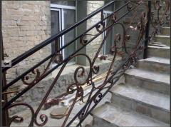 Handrail is stree