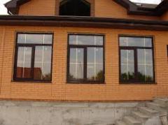 Окна металлопластиковые, балконы