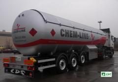 Цистерны для перевозки жидких газов и топлив