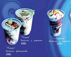 Мороженое  ванильное с джемом - Сказка