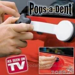 Инструмент Pops A Dent, попса дент сам себе
