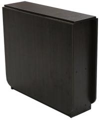 Стол книжка 4 с закругленными углами и хромированными ножками тм матролюкс стол