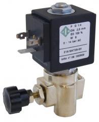 The Elektragnitny valve for an ironing press