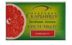 """Твердое крем-мыло """"Грейпфрут"""""""
