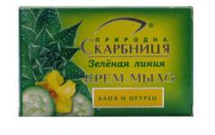 Firm Aloe and Cucumber cream-soap