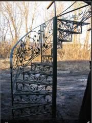 Ladders from stainless steel