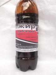 Fish oil of veterinary 500 ml unitary enterprise.