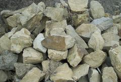 Materials stone natural construction (Rubble