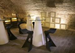 Table, Table with illumination