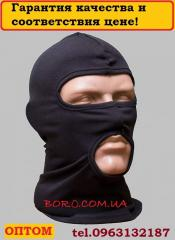 Balaklava mask with a mouth