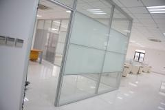 PARTITIONS OFFICE TOILET SANITARY DUSHEAYE GLASS